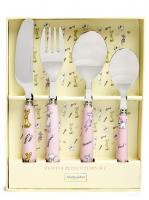 Playful Pets 4 pce Cutlery Set