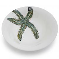 <span>Named after the mythical god of the seas, Neptune by Jersey Pottery is a sparkling collection of everyday ceramics featuring six popular and iconic marine creatures. Universally adored, the beautifully drawn puffin, starfish, dolphin, seahorse, turtle and whale designs are complemented by the ocean-colour palette background. Neptune is made from durable new bone china.</span>