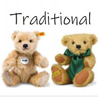 A quality selection of charming traditional 'bear' bears. All our bears come with either a gift bag or gift box, and the limited edition bears come with their numbered certificate of authenticity.<br /><br />The majority of our bears are made by Steiff, Merrythought or Suki.<br /><br /><strong>Official UK Stockist</strong>
