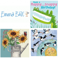 Shop for Emma Ball greetings cards, small cards, large cards from original watercolours.