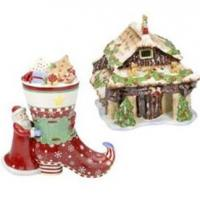 Selected items from the timeless Villeroy and Boch Christmas range.