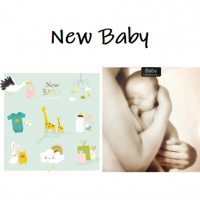 Shop for New Baby cards at Morrab Studio