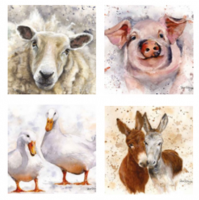 <span>Bree Merryn is a fab artist who specialises in figurative and animal art. She draws her inspiration from her beautiful rural surroundings in both Yorkshire and Cornwall. These canvas prints make the perfect gift.</span>