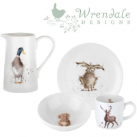 An adorable touch of countryside style anywhere in your home.<br /><br />These delightful creatures, originally hand painted by Hannah Dale in her effervescent style, will create a charming countryside theme in your home. Made of strong and durable fine bone china, these adorable mugs, utensil jars and tableware pieces are the favourite gift choice for animal lovers.