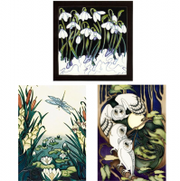 <span>Shop for Moorcroft Design Cards made by Moorcroft at Morrab Studio.<br /><br />Everyday Greetings Cards and Christmas Cards.</span>