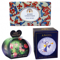 <span>Add the comfort and wonderful scents of&nbsp;Christmas&nbsp;to your bathroom with the range of&nbsp;Christmas Soap available from The&nbsp;English Soap Company.</span>