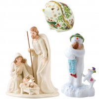 Christmas Figurines and Ornaments at Morrab Studio.