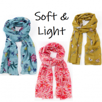 Beautiful, soft, chic, lightweight scarves available in many, many unique designs...<br /><br />Designed in Cornwall, UK.