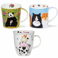 This is our selection of mugs with animal designs for all the animal lovers out there.