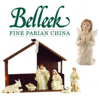 <span>Belleek Pottery was established in 1857 and is one of Northern Ireland&rsquo;s oldest potteries. The Belleek Group comprises world renowned gift and tableware brands of Belleek Classic, Belleek Living, Galway Irish Crystal and Aynsley China.</span><br /><br /><strong>Official UK Stockist</strong>