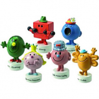 The latest novelty collection launched by John Beswick is inspired by the loveable characters from the Mr Men and Little Miss storybooks. The Beswick modellers and designers have done a fantastic job at capturing the mischievous humour and bold colours of the original characters in the new studies.