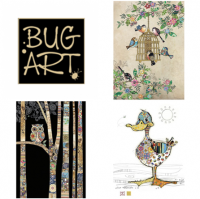 "<p class=""ezText-first"">Bug Art have been trading for over 25 years and are internationally recognized as publishers of quality art greeting cards.</p>