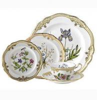 "<span style=""color: #000000;""><strong>Now Discontinued. These items are available from the stock we have left.</strong></span><br />The stunning Stafford Flowers china pattern by Spode features a white body that is adorned with glittering gold trim and graceful botanical designs based on illustrations from 1790. Produced for more than 25 years, Stafford Flowers dinnerware is now discontinued."