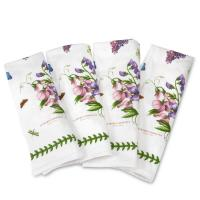 <span>Melamine Trays, Textiles, Placemats &amp; Coasters in Botanic Garden by Portmeirion.</span>