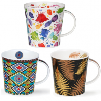 Abstract Art themed mugs and lots of bright patterns!