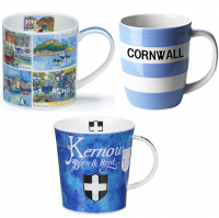 Mugs featuring Cornwall for those who live here, holiday here or are just a Cornwall fanatic!