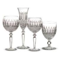 The famous Colleen design of barware by Waterford Crystal