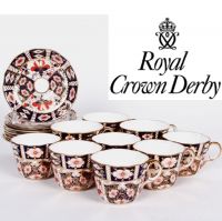 <strong>Now Discontinued. These items are available from the stock we have left.<br /></strong>Pattern 2451 named &lsquo;Traditional Imari&rsquo; was introduced in 1887 and is based on the earlier pattern number 877 from the year 1880.