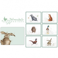 <span>An adorable touch of countryside style anywhere in your home.</span><br /><br /><span>These delightful creatures, originally hand painted by Hannah Dale in her effervescent style, will create a charming countryside theme in your home. The favourite gift choice for animal lovers.</span>