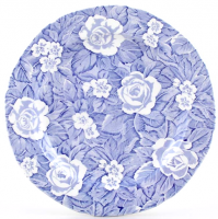 <p><span>Damask roses and primroses make up this Burleigh pattern originally from the 19th Century. The design features the flowers in white on a blue leaf background. The Victorian Chintz &ndash; Blue collection was produced from 2006 to 2010. Burleigh having the versatility of transfer printing, meaning they can make any pattern in any colour, produced a pink tea set in 2006 as it was proving a popular colour choice. A red variation was also made although the manufacturing date is not known.</span></p>