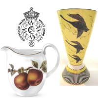 Believed to be the oldest or second oldest English porcelain brand still in use today.&nbsp;<br /><br />Producing classically English porcelain collections, Royal Worcester remains a luxury giftware and tableware manufacturer.