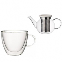 Selected Items of Glassware by Villeroy and Boch.