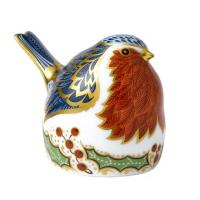 Royal Crown Derby - Christmas Robin 62105