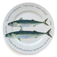 "<strong><span><span style=""color: #008000;"">  This is a Discontinued Range by Jersey Pottery - NOW 15% OFF EVERYTHING.</span><br /><br /></span></strong><span>Jersey Pottery's Fruits de Mer range of ceramics, as seen at Borough Market, was inspired by the marine-life rich waters surrounding the Channel Islands, home to some of the finest fish and shellfish in the world. Manufactured by Jersey Pottery with fish designs from original paintings by artist Richard Bramble, the ceramic tableware collection of plates, dishes, mugs, bowls and platters is made of durable porcelain that can stand up to the rigours of professional use. The ceramics are complemented by co-ordinated accessories such as tablemats and coasters. Instantly recognisable, Jersey Pottery's Fruit de Mer with designs by Richard Bramble has become a classic and can now be found all over the world gracing tables of beautiful homes and fine restaurants. Fruits de Mer is made from durable porcelain (mugs from bone china).</span>"