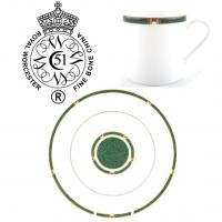 <strong>Now Discontinued. These items are available from the stock we have left.</strong><br /><span>Royal Worcester Carina has produced in a choice of Blue or Green from 1993 to 2004. The gold trim on this pattern means it is not safe for use in the microwave.</span><br /><br /><span>Fine Bone China Tableware by Royal Worcester.</span>