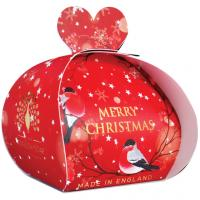 <span>Add the comfort and wonderful scents of Christmas to your bathroom with the range of Christmas Soap available from The English Soap Company.</span>