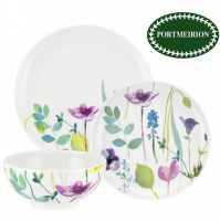 <span>Water Garden from Portmeirion features a design of exquisitely painted and colourful flowers on a sparkling white backdrop &ndash; a splash of floral magic that will add colour and charm to any home.</span>