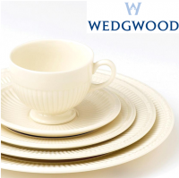<span>The most aristocratic of Wedgwood's patterns, Edme dates back over a century and is characterised by sophisticated Georgian shapes and a design motif drawn from Wedgwood's original 18th century archives. The collection has an earthenware body, and features a smoothly harmonious laurel motif.&nbsp;</span>
