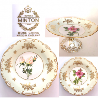 <span>Bone China Made and partly Hand Painted in England. <br /><br />These are special limited edition signed plates.</span>
