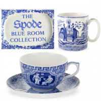 <span>Originating from the 18th century, Spode's Blue Room collection is made up from a medley of distinctive motifs and patterns, ranging from floral to faunal, to famous places and scenery.</span><br /><br /><span>The blue and white designs, made famous by Josiah Spode, continue to be produced today capturing the same authentic Spode blue that was born from the original process of under-glaze printing from hand engraved copper plates.</span>