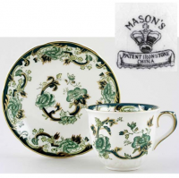 <span>Mason's Ironstone was founded by a family of potters who traded under various names in the early 19th century but was finally named Mason's Ironstone Ltd in 1969.</span>