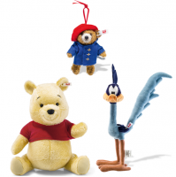 <span>Classic renditions of childhood favourites. <span>Here you will find some well loved Steiff Licensed Characters such as Paddington, Mickey & Minnie Mouse and Winnie the Pooh & friends.</span></span>
