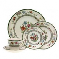 <span><strong>Now Discontinued. These items are available from the stock we have left.</strong></span><br /><span>Art Deco Copeland&nbsp;Spode&nbsp;Pottery -&nbsp;Chinese Rose pattern was one of the most popular of Spode's colourful patterns on earthenware in the 20th century. Millions of pieces must have been made and there were several variations to the pattern each given its own unique pattern number in the Spode pattern books now in the Stoke-on-Trent City Archives.&nbsp;This range is no longer made.</span>
