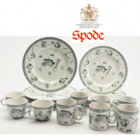 Spode Green Gardening pattern. This pattern is discontinued.<br /><br />Remaining items of original stock from (Spode) supplier.