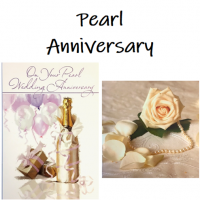 Shop for Pearl Wedding Anniversary cards at Morrab Studio<br /><br /><strong>30th</strong> Wedding Anniversary cards
