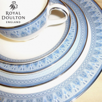 Royal Doulton Rossetti (H5282) was produced from 2001 to 2004.&nbsp;<br /><br />The gold trim on this pattern means it is not safe for use in the microwave.