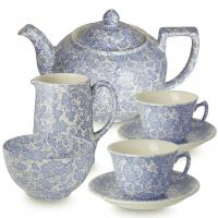 <span>Burgess Chintz is a delicate blue chintz flowered pattern dating from the early 1900's, derived from the wild geranium. This range is now discontinued.</span>