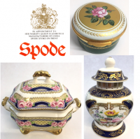 <p>Famous for creating a method of under-glaze blue transfer printing, leading to the Blue Italian range which is still made today. Josiah Spode founded the pottery company in 1770.</p>