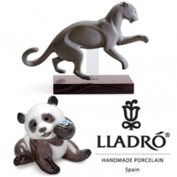 <p>Established near Valencia, Spain in 1953 by the three Lladro Brothers; 'Lladro Porcelain' became well regarded as manufacturers of fine porcelain figurines within a few years.</p>