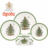 Loved for its nostalgia and warm recollections of Christmases past, Christmas Tree from Spode has been gracing our dinner tables for 75 years. Hailed as one of the world's most loved tableware designs, Christmas Tree has been bringing joy and cheer to festive family homes since 1938.