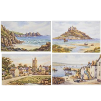 <h2>Cornish Scenes on Tablemats and Coasters</h2>