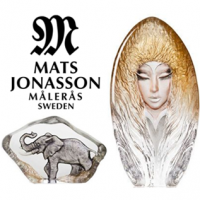 Handmade in Sweden<br /><br />Crystal products from Målerås Glassworks designed by Mats Jonasson and Ludvig Löfgren.<br /><br />The creative power you find in the Kingdom of Crystal and in Målerås has made our crystal famous all over the world. Skilled glassblowers, painters, grinders and engravers have put their love into every product. Already in 1890 our ancestors started to blow glass in Målerås. For 120 years the glassworks has designed and produced crystal, which has found its owners all over the world. The ambition of Målerås Glassworks is to preserve the unique knowledge and with enthusiasm and free imagination renew the Swedish crystal.<br /><br />If you own an item from Målerås Glassworks you are guaranteed a Swedish handmade object in crystal. Welcome to the world of Crystal!<br /><br /><span><strong><span>All items supplied with their own protective Gift Boxes.</span></strong></span>