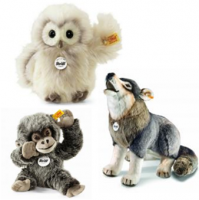 <span><strong>Steiff Plush Animals and Bears Suitable for Children</strong>.</span><br /><span> All with the Steiff Button in Ear for long term identification as a quality product.<br />Official Steiff Stockist UK<br /><br />There are many stuffed teddy bear companies, but there is only one Steiff. In the world of plush childrens soft toys, Steiff are totally unique. Their Steiff for kids range, stand proudly above those from their competitors. That's because they are made from superior materials, exclusively by hand, in the same workshops in which they've been created for over a hundred years. They are beautifully designed, ultra-realistic, and completely child safe. Many Steiff products become heirlooms that accompany a child all the way through adulthood.<br /></span>