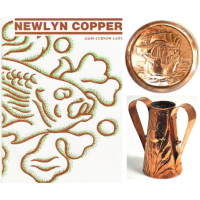 A book written by John Curnow Laity, the founder of Morrab Studio on the history of Newlyn Copper.
