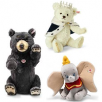 <span> </span><strong>DISCOUNTED STEIFF LIMITED EDITION BEARS UK</strong><span>: </span><br /><span>Steiff bears and animals have been making themselves at home around the world for over 125 years. The Steiff 'Button in Ear' Tag is one of the world's most renowned trademarks. The Original Collection has the yellow tag with red writing. The Limited Editions have a white tag with red writing. The Replica Limited Bears have a White tag with black writing. <br /></span><br /><span>All Limited Bears come with their own boxes and certificates. </span><br /><span>Official Steiff Stockist UK</span>