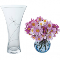<span>Provide a beautiful home for flowers with any choice of a Dartington vase. With a host of size and design options &ndash; all lovingly created by hand. As an ever popular gift idea many of our vases are suited to engraving for that special present.</span>